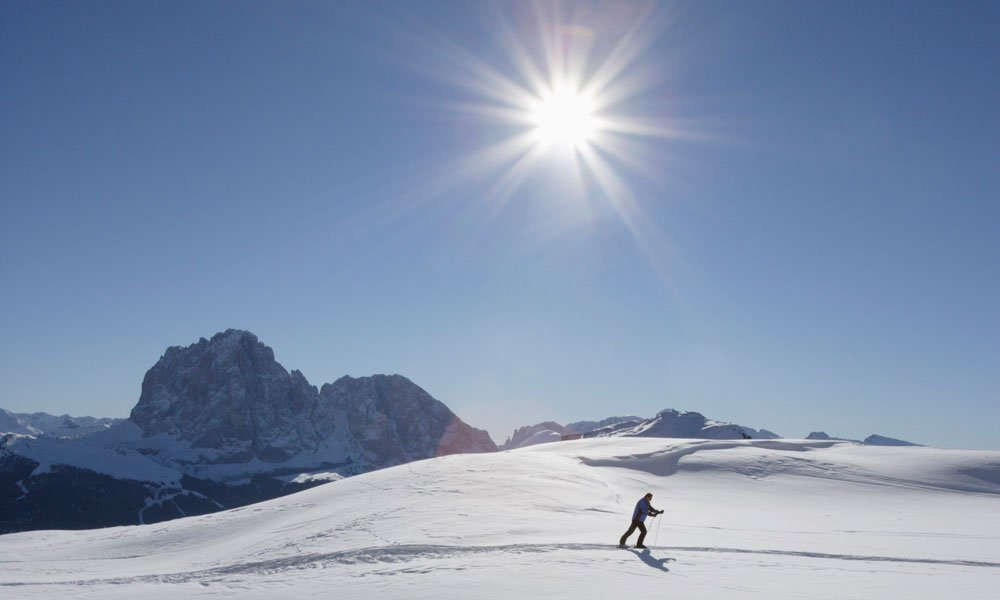 Cross-country skiing during your winter holidays