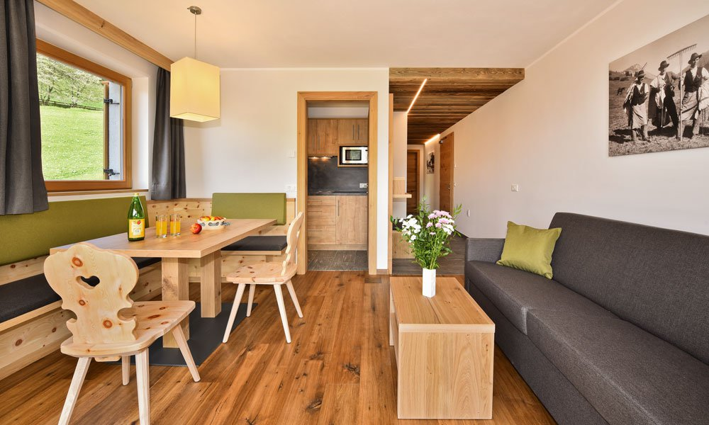 Farm holiday in the Dolomites: comfortable living at the Proihof farm