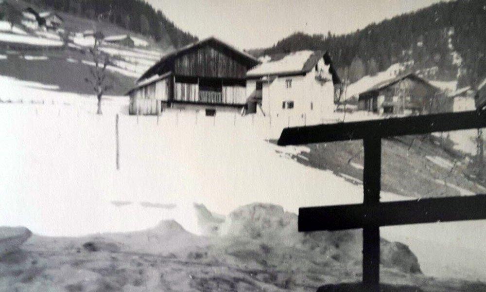 Der Proihof um 1970
