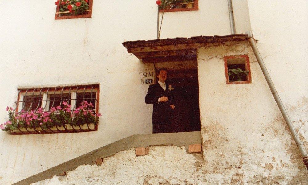 Der Proihof im Jahr 1981