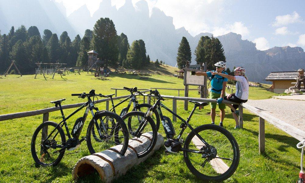 Radtouren in Villnöss mit Elektro-Mountainbikes