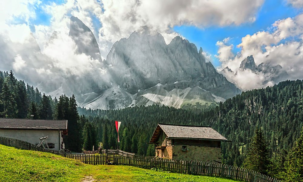 The Funes Alps: natural gems in the heart of the mountains