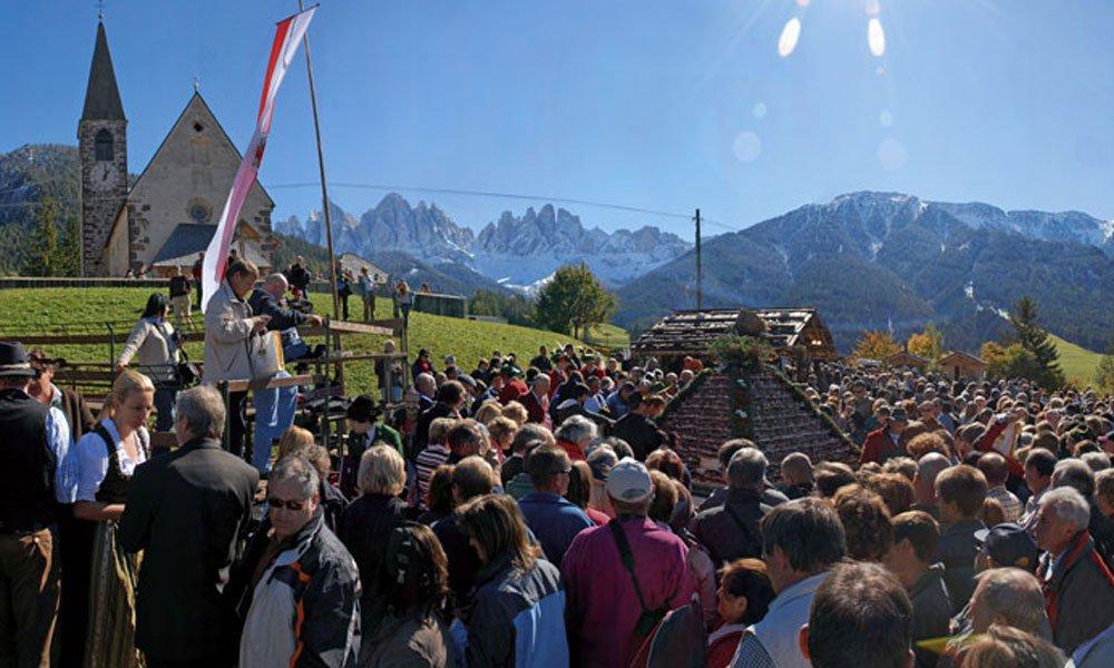 La Festa dello Speck a Funes
