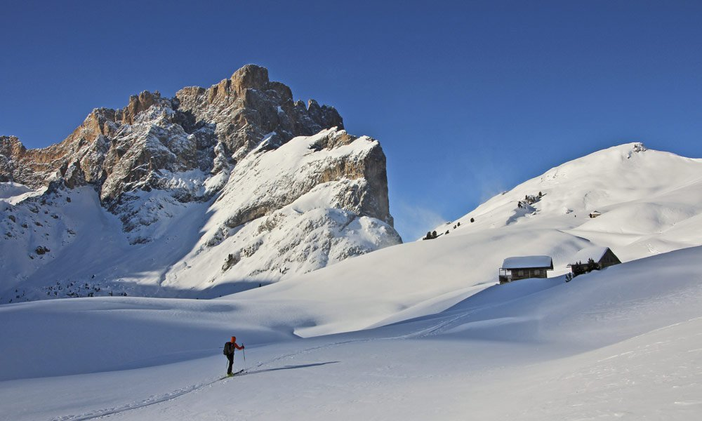 Auf Skitouren die Natur genießen